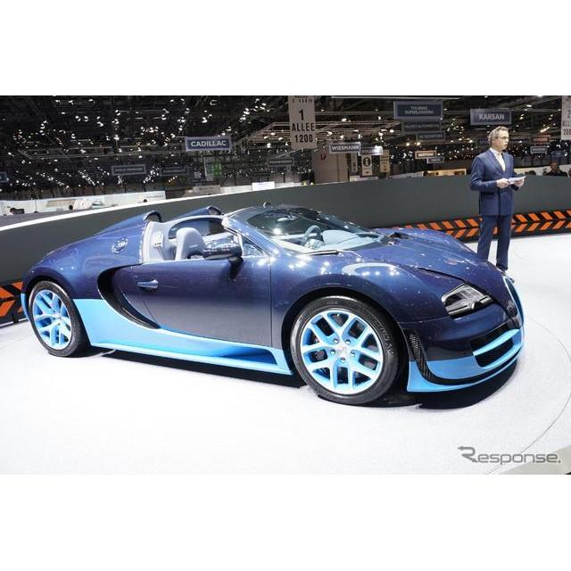 フランスの高級スポーツカーブランド、ブガッティ。同ブランドが、ジュネーブモーターショー12でワールドプ...
