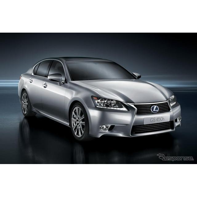 トヨタ自動車は3月19日、レクサス『GS450h』を発売した。今回、ハイブリッドモデルGS450hの新車装着用タイ...