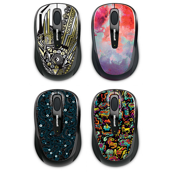 Wireless Mobile Mouse 3500 アーティスト エディション