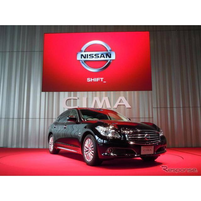 日産自動車が25日に発表した5代目『シーマ』は、ハイブリッド専用車として復活した。シーマの商品企画を担...