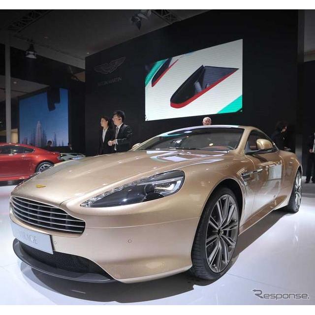 アストンマーチンは23日、中国で開幕した北京モーターショー12(オートチャイナ12)において、「ドラゴン88...