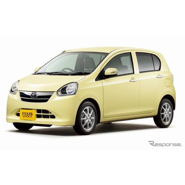 トヨタ自動車は10日、新型軽乗用車『ピクシス エポック』の販売を開始した。  新型車はダイハツ『ミラ イ...