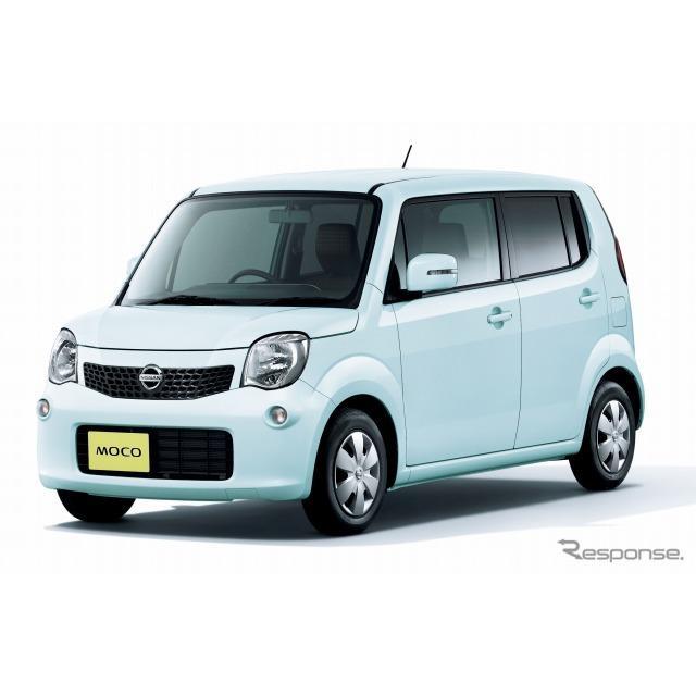 日産自動車は、『モコ』の燃費を向上し、5月15日より発売を開始した。  今回、エンジンとCVTの効率をさら...