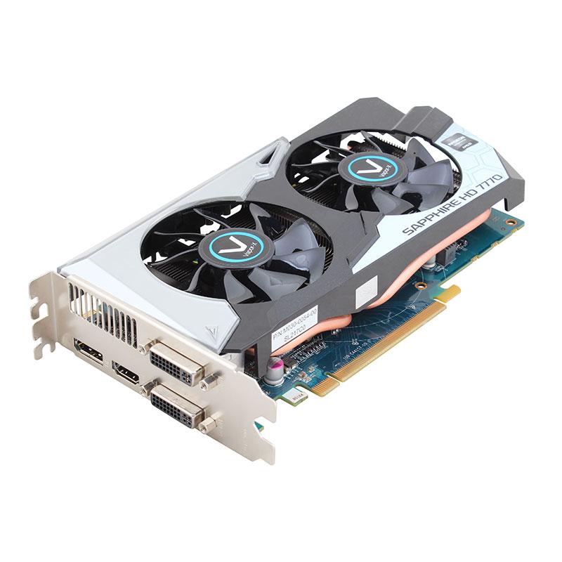 VAPOR-X HD7770 GHZ EDITION 1G GDDR5 PCI-E DVI-I/DVI-D/HDMI/DP OC