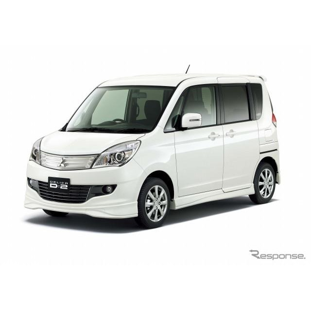 三菱自動車は、コンパクトミニバン『デリカD:2』と5ナンバーミニバン『デリカD:3』、小型商用車『デリカ...