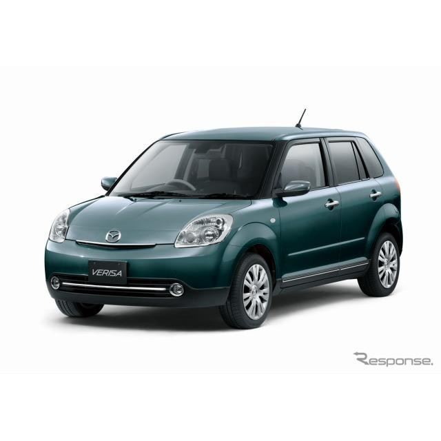 マツダは、コンパクトカー『ベリーサ』を一部改良し、28日より発売を開始した。  今回の一部改良では、ボ...