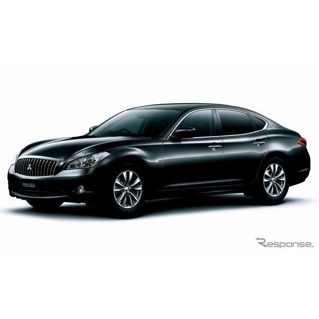 三菱自動車は、高級セダン『プラウディア』『ディグニティ』を、7月26日より発売する。  プラウディアは...