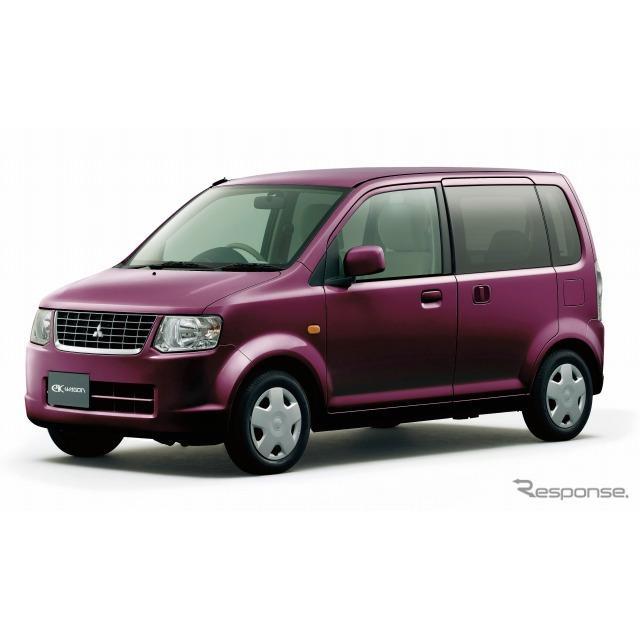 三菱自動車は、軽乗用車『eKワゴン』『eKスポーツ』『トッポ』『i』および軽商用車『ミニキャブ バン』『ミ...