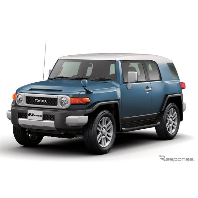 トヨタ自動車は、『FJクルーザー』を一部改良し、7月24日より発売を開始した。  今回の一部改良では、ホ...