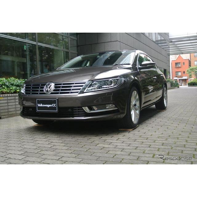 フォルクスワーゲングループジャパン(VGJ)は24日、4ドアクーペスタイルの『フォルクスワーゲン(VW) CC...