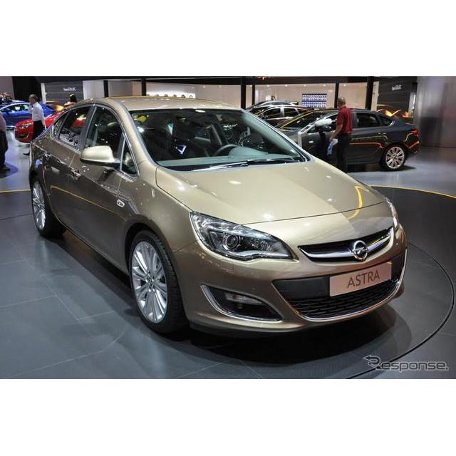 GMの欧州部門のオペルは8月29日、ロシアで開幕したモスクワモーターショー12において、新型車『アストラセ...
