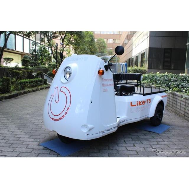 光岡自動車が発売を開始した、新型電気自動車『雷駆-T3』のデザインは、購入した企業などの名前が映えるよ...