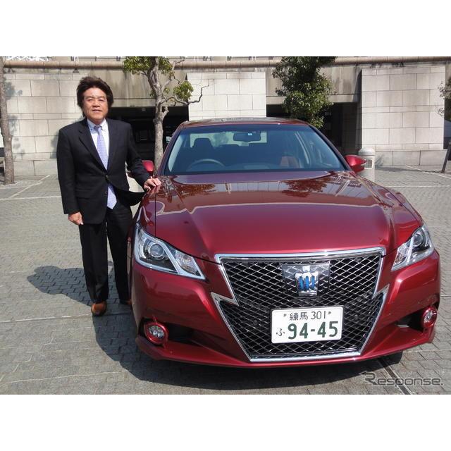トヨタ自動車が2012年12月に発売した新型『クラウン』のハイブリッド車(HV)受注比率が2月以降75%水準と...