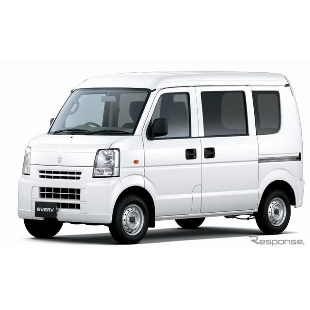 スズキは、軽商用車『エブリイ』3AT車の燃費を改善し、4月10日より発売する。  今回発売するエブリイ 3AT...
