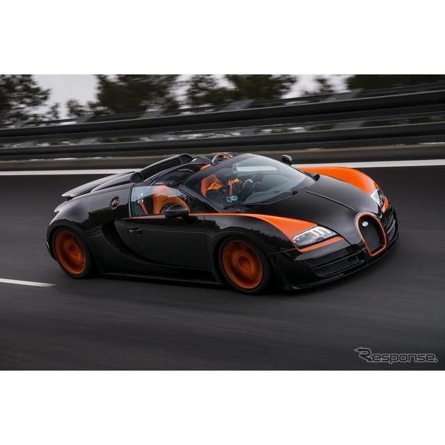 フランスの高級スポーツカーメーカー、ブガッティは4月11日、『ヴェイロン16.4 グランスポーツ ヴィテッセ...