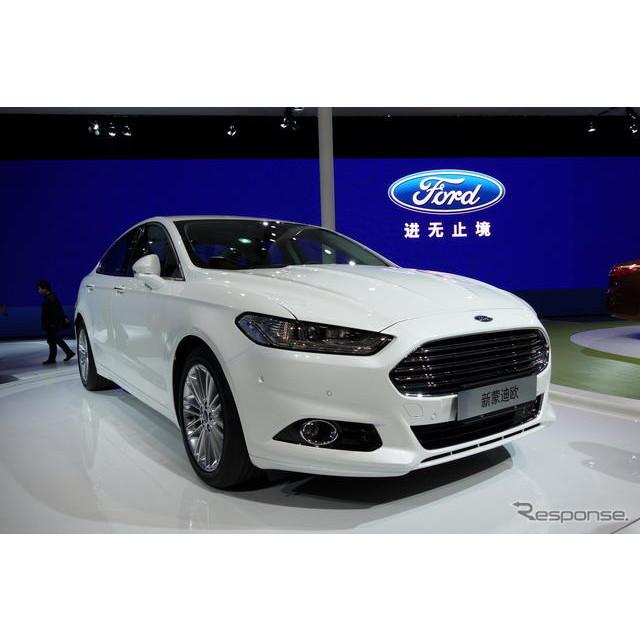 米国の自動車大手、フォードモーターは4月20日、中国で開幕した上海モーターショー13において、中国向けの...