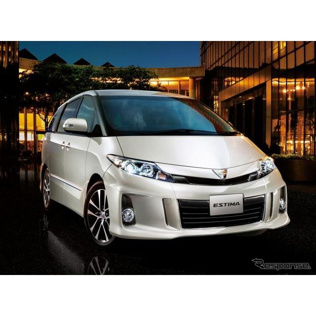 トヨタ自動車は、『エスティマ』『エスティマハイブリッド』に特別仕様車を設定し、5月7日より販売を開始し...