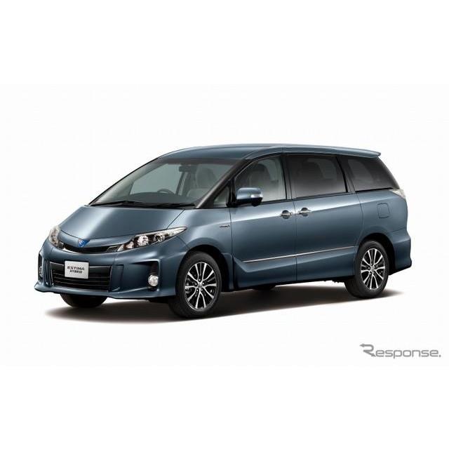 トヨタ自動車は、『エスティマ』『エスティマハイブリッド』を一部改良し、5月7日より販売を開始した。  ...