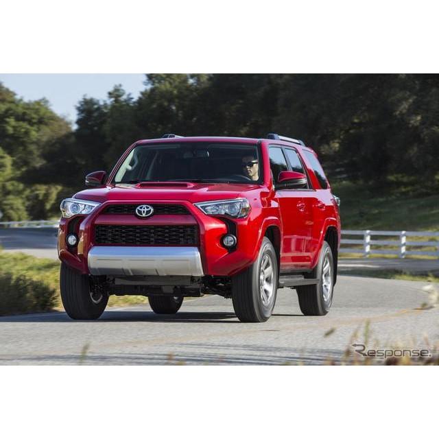 トヨタ自動車の米国法人、米国トヨタ販売は4月下旬、米国カリフォルニア州において、『4ランナー』の2014年...