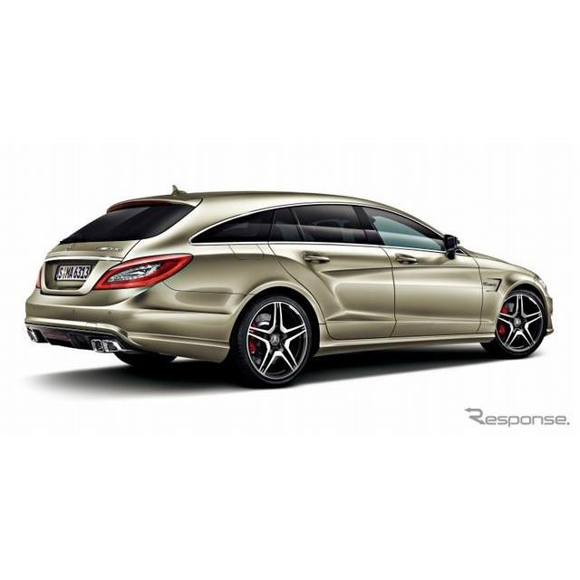メルセデス・ベンツ日本は、メルセデス・ベンツ『CLS 63 AMG』に新規モデルをラインアップを追加するととも...