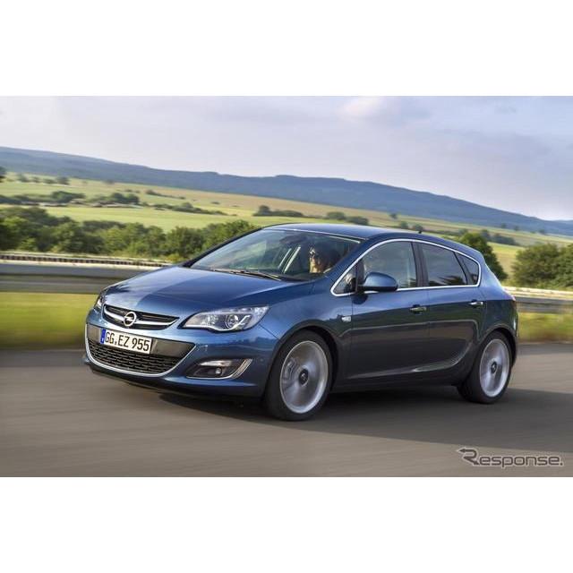 米国の自動車最大手、GMの欧州部門のオペルは5月15日、主力車の『アストラ』に新世代のガソリンターボエン...