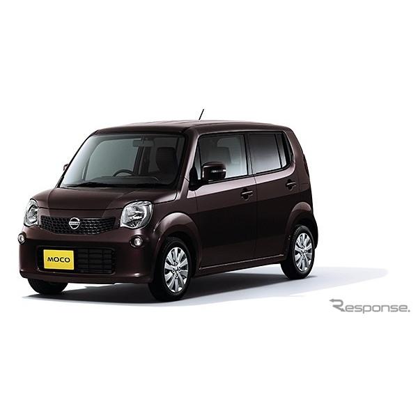 日産自動車は、軽自動車『モコ』の一部仕様を向上し、7月26日より販売を開始した。  今回の一部仕様向上...