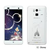 Disney Mobile on docomo F-07E