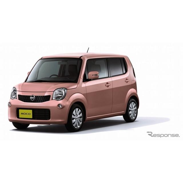 日産自動車は、軽自動車『モコ』をマイナーチェンジし、10月16日より販売を開始した。  今回のマイナーチ...