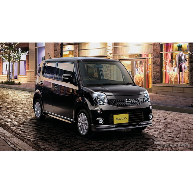 オーテックジャパンは、日産『モコ』のマイナーチェンジにあわせ、特別仕様車『モコ エアロスタイル』に、...