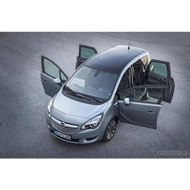 米国の自動車最大手、GMの欧州部門のオペルは、『メリーバ』の改良モデルの概要を明らかにした。実車は2014...