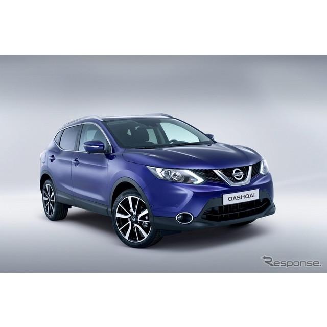 日産自動車の欧州法人、欧州日産は11月7日、英国ロンドンにおいて、新型『キャシュカイ』を発表した。  ...
