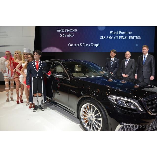 メルセデス・ベンツ日本は、『Sクラス』の最上級モデル『S65 AMGロング』を「第43回東京モーターショー2013...