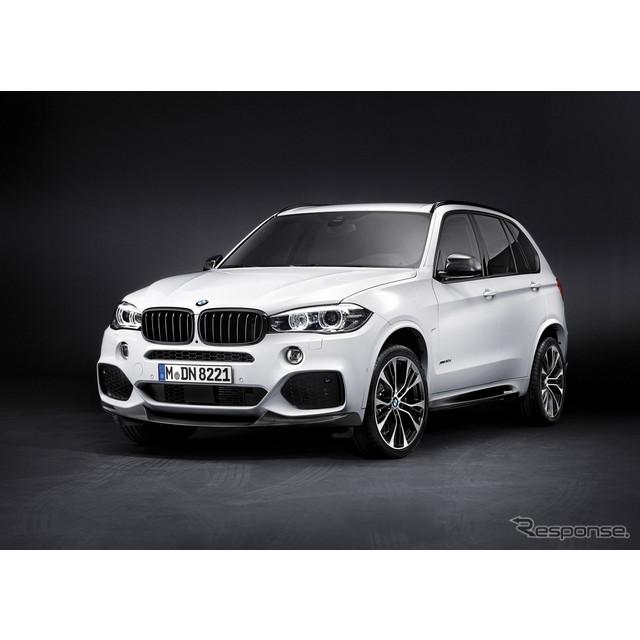 新型BMW X5 のMパフォーマンスパーツ