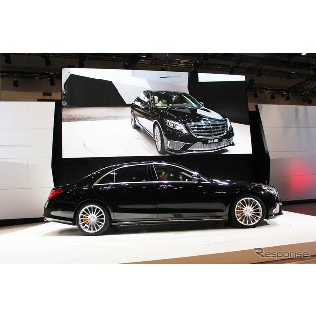 東京モーターショー13でワールドプレミアしたメルセデスベンツ『S65AMGロング』。そのベースとなる『Sクラ...