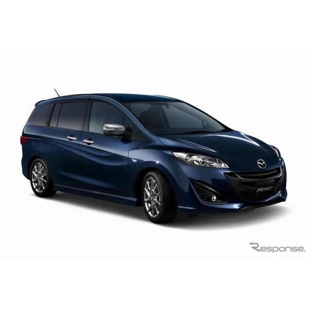 マツダは、ミニバン『プレマシー』に、特別仕様車「20S-SKYACTIV セレーブル」を設定し、12月26日より販売...