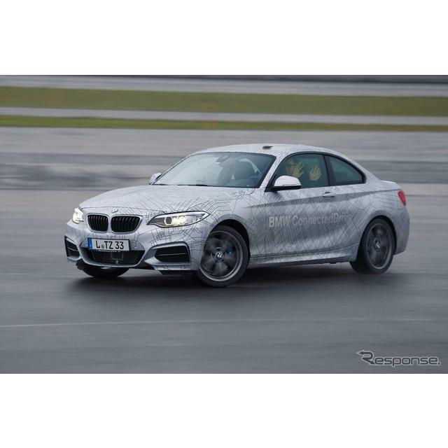 ドイツの高級車メーカー、BMWは1月7日、米国ラスベガスで開幕したCES(コンシューマー・エレクトロニクス・...