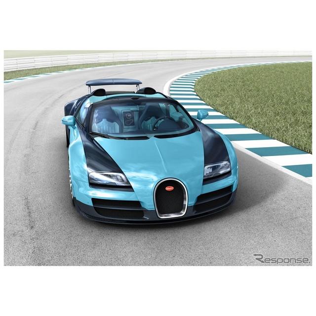 フランスの高級スポーツカーメーカー、ブガッティの誇る世界最速のオープンカー、『ヴェイロン16.4グランス...