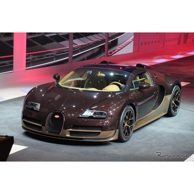 フランスの高級スポーツカーメーカー、ブガッティは3月3日夜(日本時間3月4日未明)、ジュネーブモーターシ...