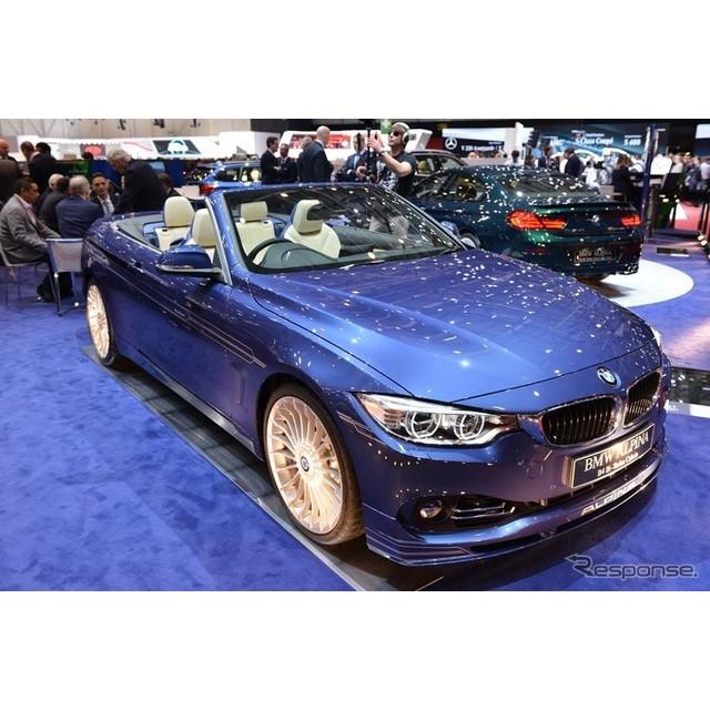 BMWの高性能車を開発・販売するドイツの「アルピナ」は3月4日、スイスで開幕したジュネーブモーターショー1...