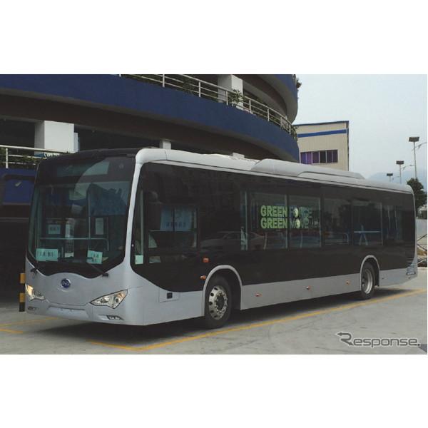 BYDオートのeバス