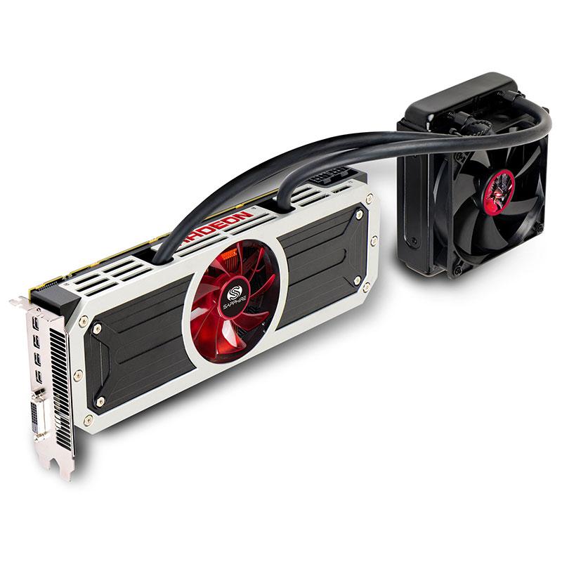 R9 295X2 8G GDDR5 PCI-E DVI-D / QUAD MINI DP