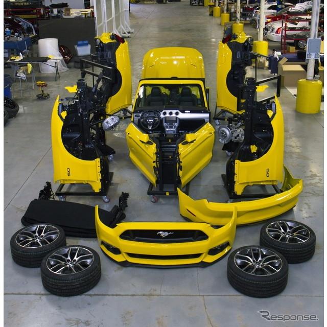 米国の自動車大手、フォードモーターは4月17日、米国で開幕したニューヨークモーターショー14に合わせて、...