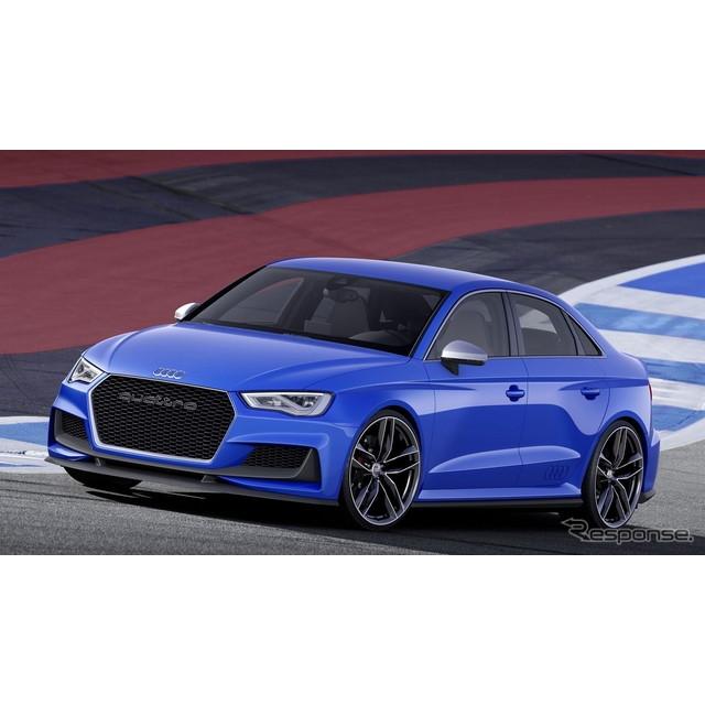 ドイツの高級車メーカー、アウディは5月15日、コンセプトカーの『A3クラブ スポーツ クワトロ』の概要を明...