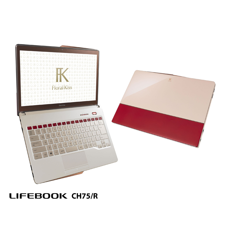 LIFEBOOK-CH75R(Floral-Kiss)「Elegant-Red-with-Beige」