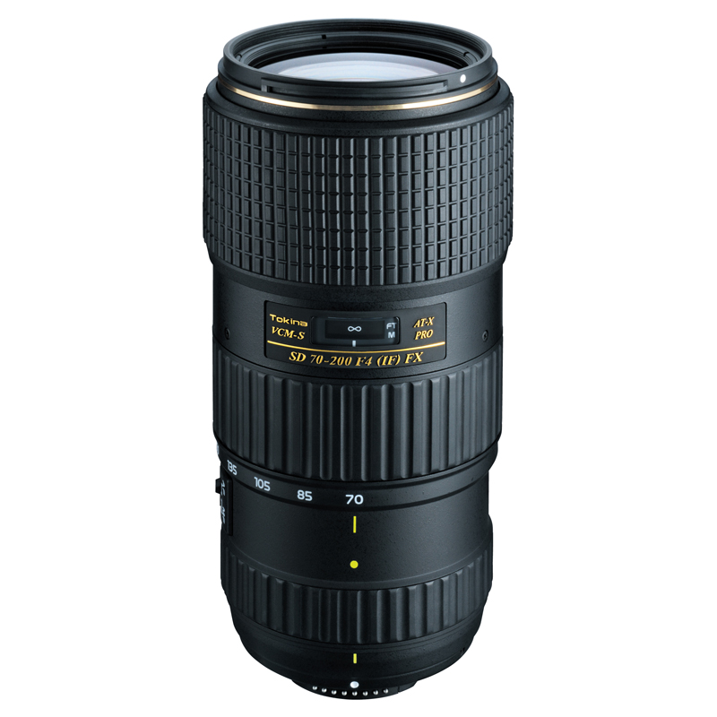 「AT-X 70-200mm F4 PRO FX VCM-S」(ニコン用)