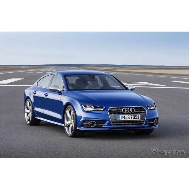 ドイツの高級車メーカー、アウディは5月22日、『S7スポーツバック』に大幅改良を施し、欧州で発表した。 ...