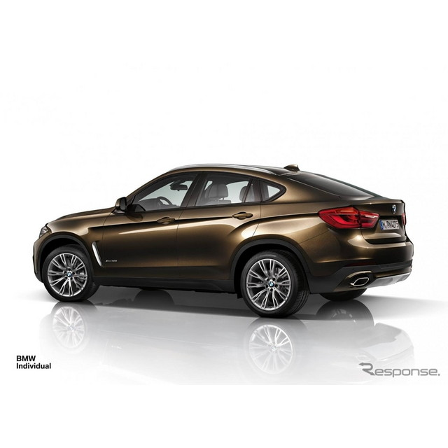 新型BMW X6 のBMWインディビジュアル仕様