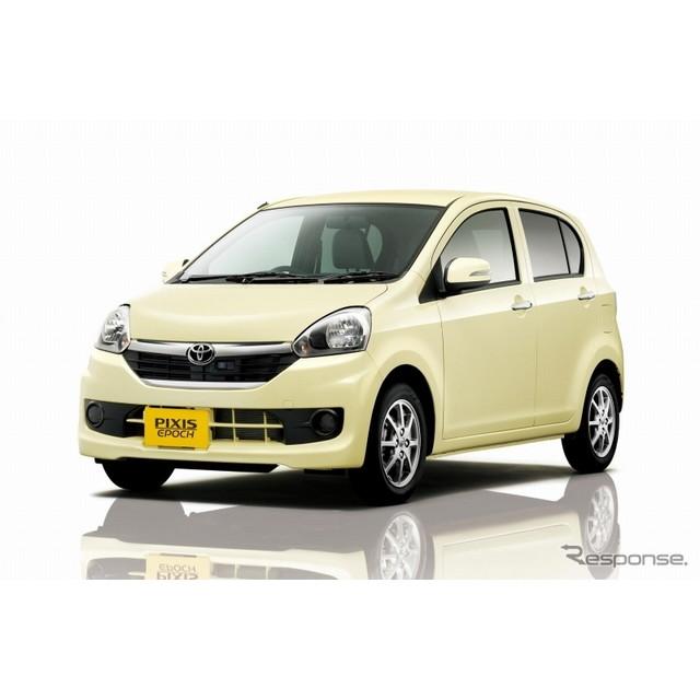 トヨタ自動車は、軽乗用車『ピクシス エポック』を一部改良し、全国のトヨタカローラ店、ネッツ店および、...