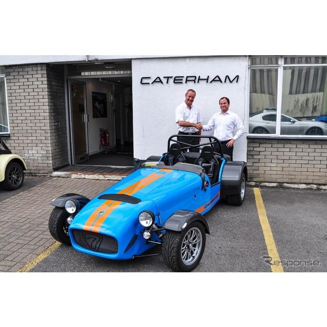 英国ケーターハムカーズは7月8日、『スーパーライトR500』の最終モデルが7月7日、英国工場からラインオフし...