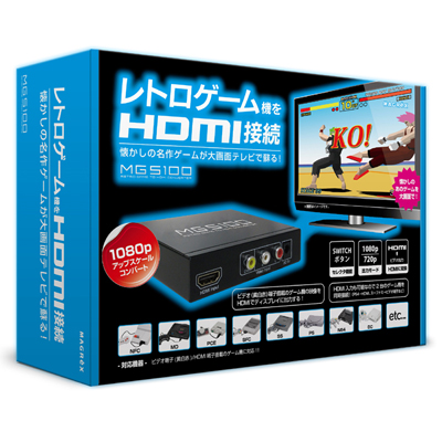 RETOR GAME TO HDMI CONVERTER MG5100